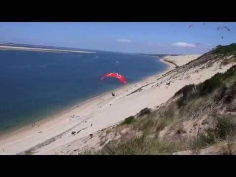 Testing Little Cloud Spiruline EZ - size L -  at Dune de Pyla 2015 HD