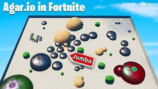 I created Agar.io in Fortnite *NEW* Game Mode in Fortnite Battle Royale