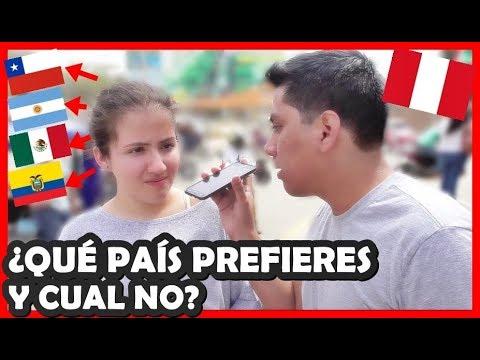 El país más y menos Querido en Perú de Latinoamérica | Peruvian Life