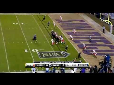 Nebraska Vs. Washington (Holiday Bowl) 2010 Football