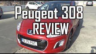 REVIEW Peugeot 308 www.buhnici.ro