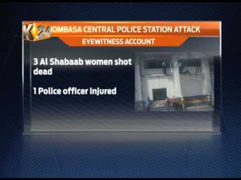 3 female terrorists killed after storming Mombasa police station
