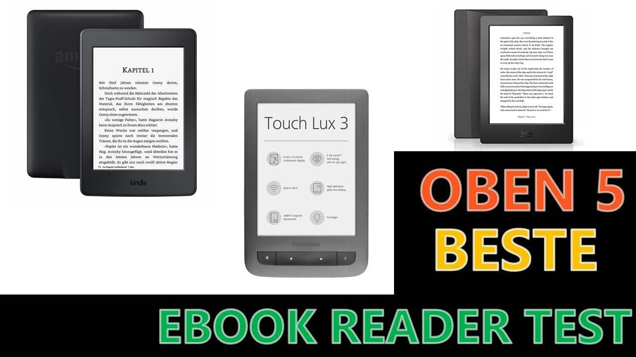 Beste Ebook Reader Test 2019