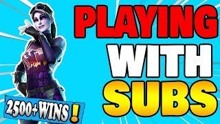 🔴 PLAYING WITH SUBS Fortnite Live Stream Xbox one