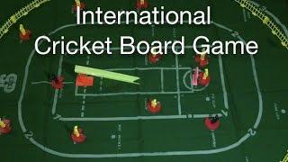 International Cricket Board Game