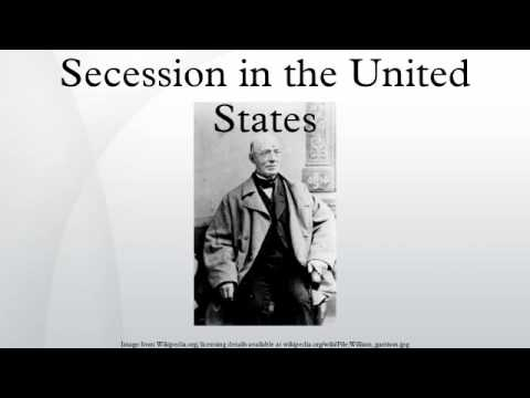 Secession in the United States