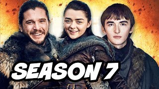 Game Of Thrones Season 7 Trailer - Stark Reunion and White Walker Theory