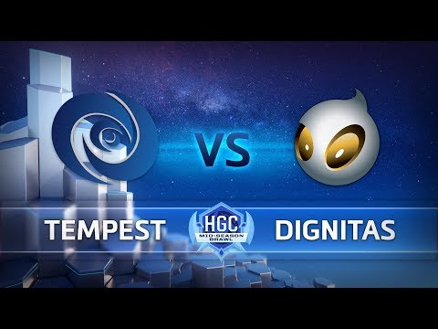 Team Dignitas vs Tempest vod