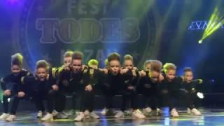 TODES FEST Казань 2017 Dance battle (Дети/Юниоры)