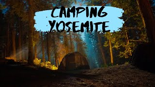 Camping Yosemite National Park, California