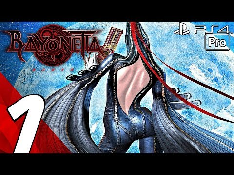 BAYONETTA 1 - Gameplay Walkthrough Part 1 - Prologue (PS4 PRO)