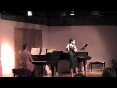 Charity Parker, 12th grade - Fall Flute Recital 2009