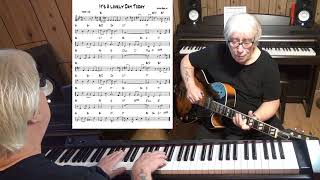 It's A lovely Day Today - Jazz guitar & piano cover ( Irving Berlin )