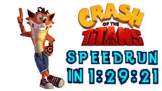 Crash of the Titans Speedrun in 1:29:21