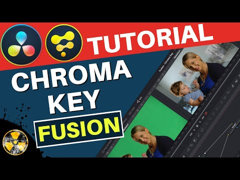 DaVinci Resolve 16 Fusion Tutorial: Chroma Key, Fundo Verde, Green Screen
