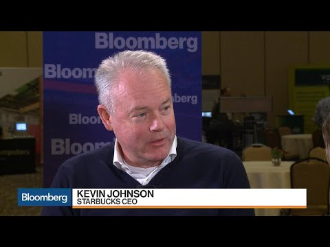Starbucks CEO on Innovation, Growth Strategy and China
