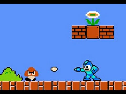 Mega Man ROM Hack - Mega Man in Mushroom Kingdom - NES Longp
