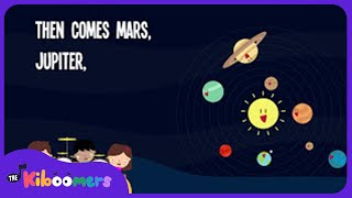 Planet Song | Lyrics | Solar System Song | Space Song | Nursery Rhyme | Kids Song