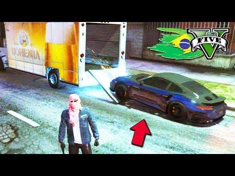 GTA V: BRASIL ROLEPLAY - TRANSPORTANDO um CARRO DE LUXO!!! #39