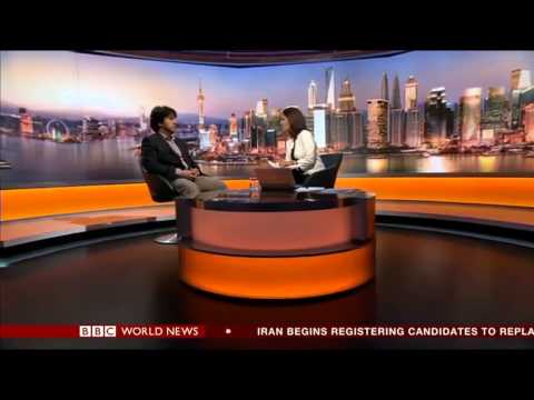 BBC World News interview with One World Media Special Award winner Objective TV