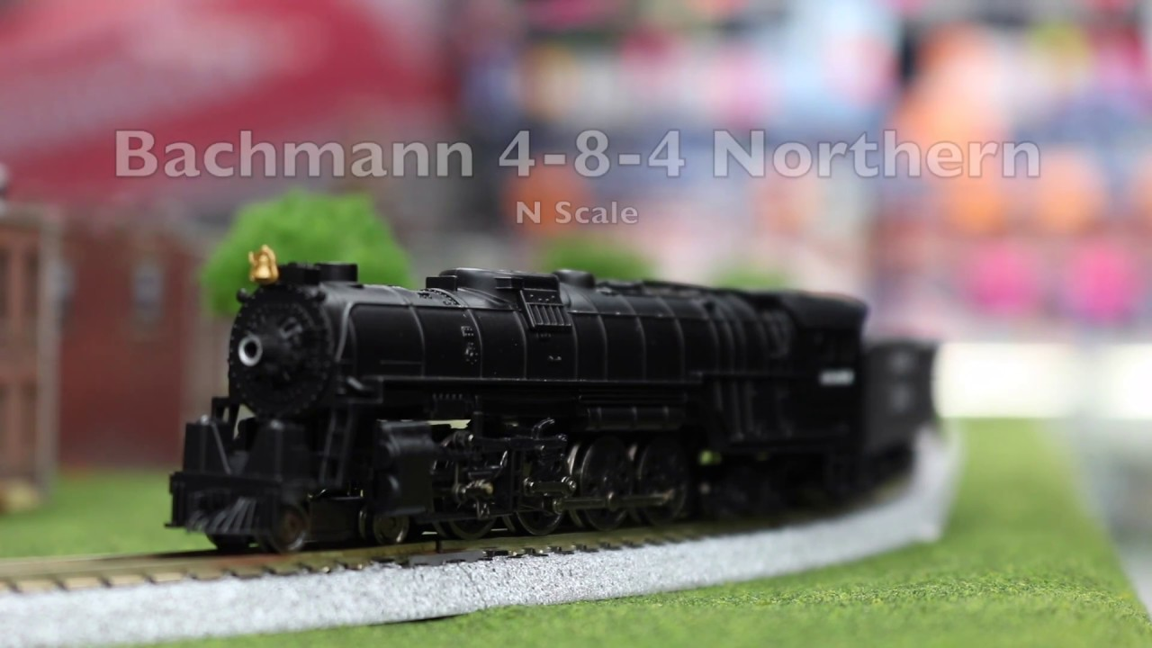 Scale steam locomotives for sale n scale steam locomotives - Bachmann N Scale Northern 4 8 4 Steam Locomotive