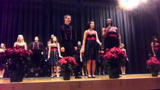 2011 Struthers High School winter choir concert - 12 Groovy Days of Christmas