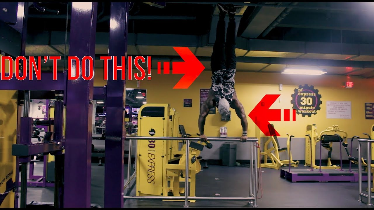 Don T Do This In Planet Fitness Lunk Alarm Youtube