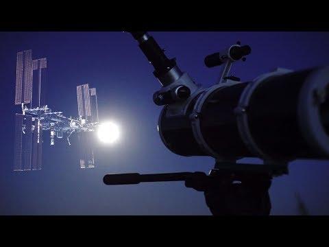 Как МКС выглядит в телескоп? Фотографируем МКС крупным планом