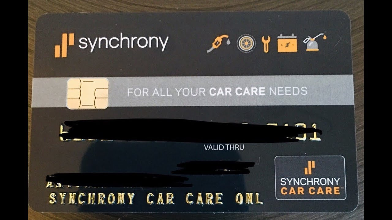 Synchrony Bank Credit Cards >> Synchrony Bank Car Care Credit Card Unboxing