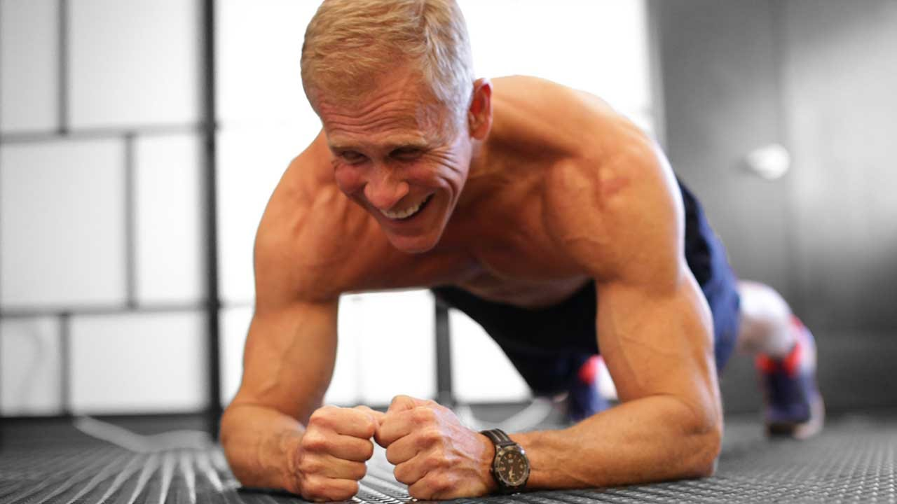 Abdominal exercises for men over 60