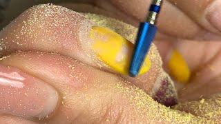 Снятие гель лака с ногтей без травм и пропилов