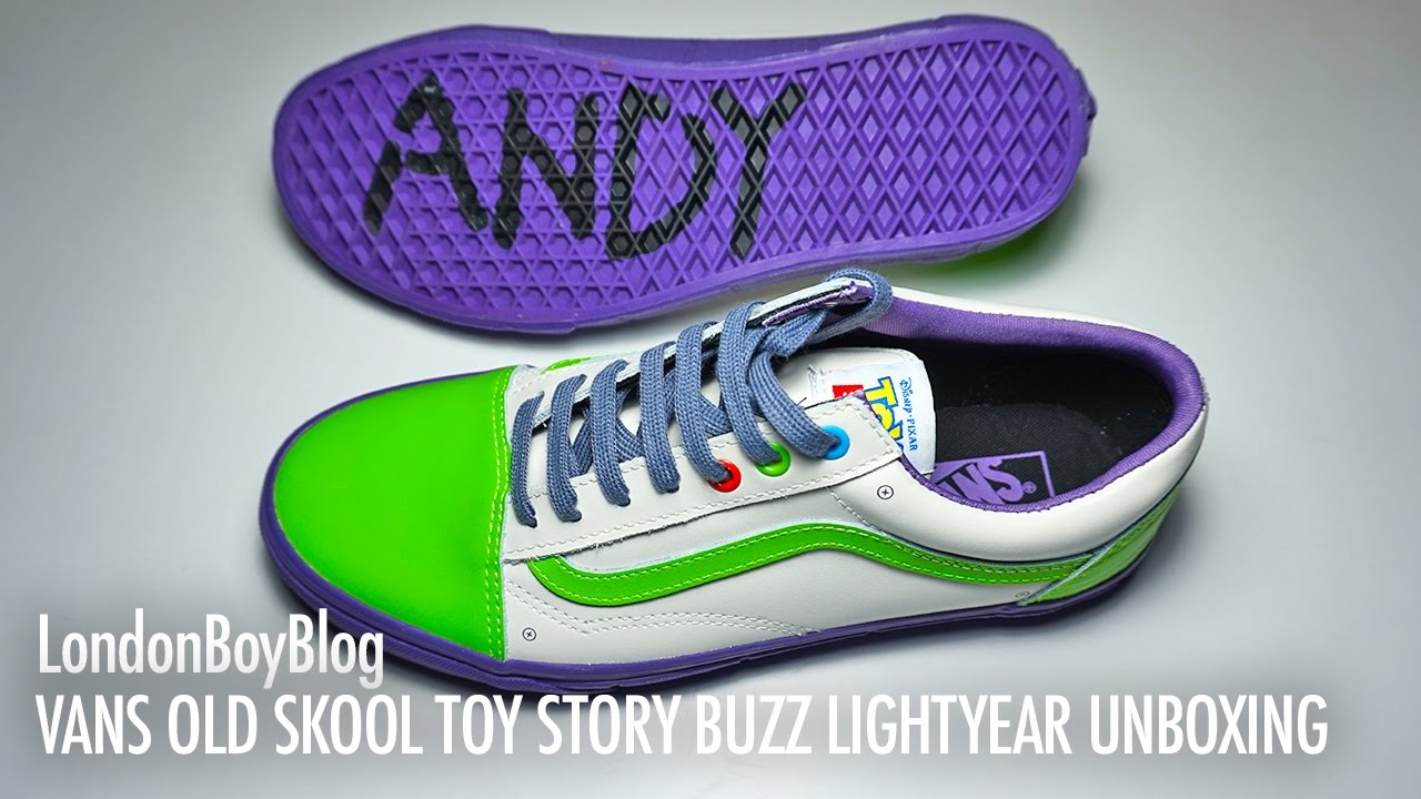 Skool Lightyear Vans Story Toy Buzz Unboxing Old Youtube X5wrPqgwn