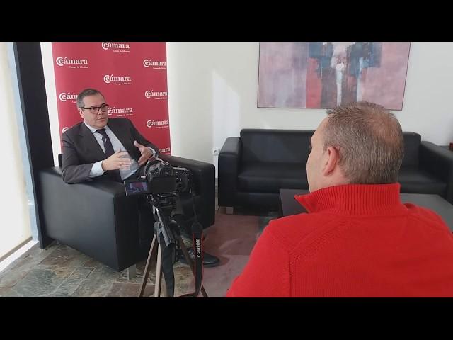 El Protagonista: Carlos Fenoy, presidente de la Cámara de Comercio del Campo de Gibraltar