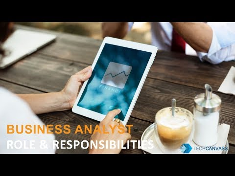Business Analyst Tutorial  |  Business Analyst Role and Responsibilities