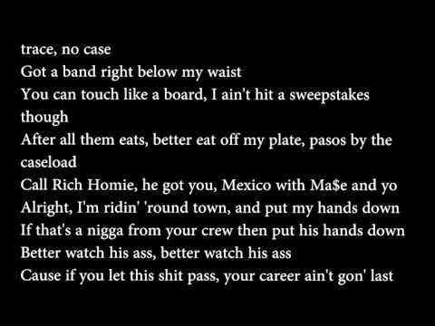 Young Thug - No Joke Lyrics (Prod. By Chopsquad & Metro Boomin)