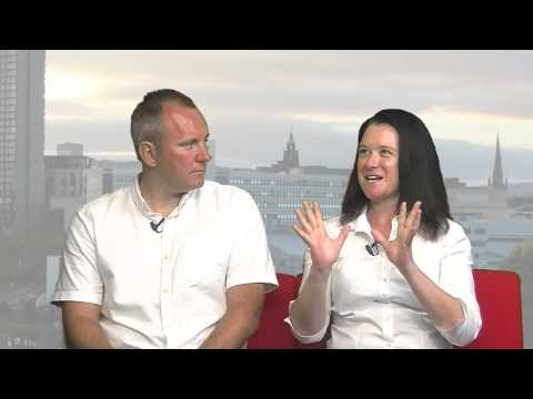 Matt Hamshaw & Liz Byrnes Sheffield Live TV 6.7.17 Part 2