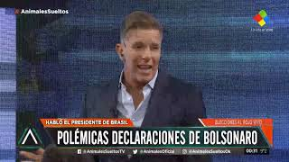 Polémicas declaraciones de Bolsonaro sobre la Argentina