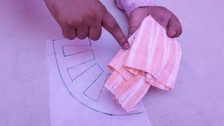क्या खूबसूरत कुर्ती का नैक डिज़ाइन है और बनाना भी उतना ही आसान है / Creative Neck Design