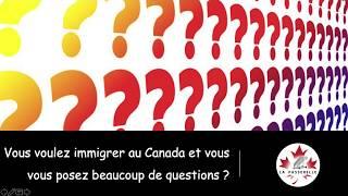Immigrer au Canada - Consultation en ligne.