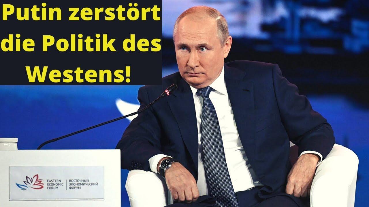 Putin zerlegt die Politik des Westens – deutsch Übersetzung