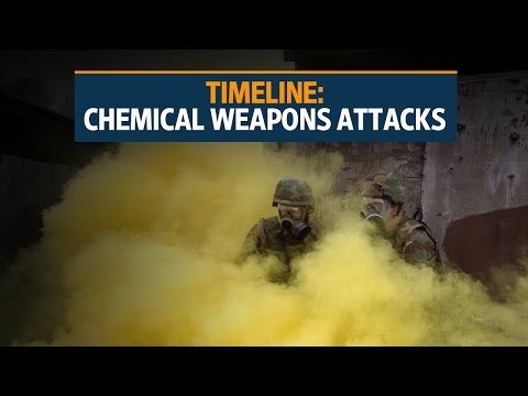 Timeline: Chemical weapons attacks