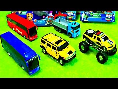 Feuerwehr Bei Paw Patrol, Lastwagen, Lego Duplo, Spiele Mit KinderSpielzeug, Kinderspielzeugkanal