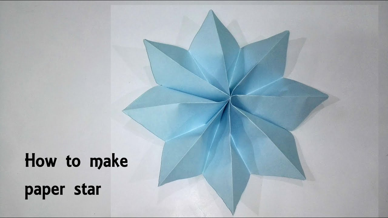 How To Make Paper Star