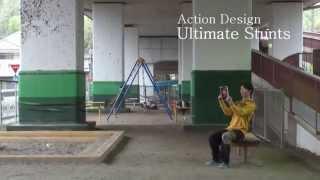 栩原楽人アクションデモリール(アクション編)Rakuto Tochihara Stunt demonstration Action ver.