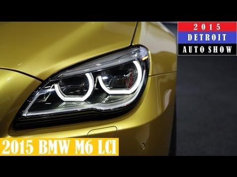 2015 BMW M6 LCI in Austin Yellow - 2015 Detroit Auto Show (Live Photos)