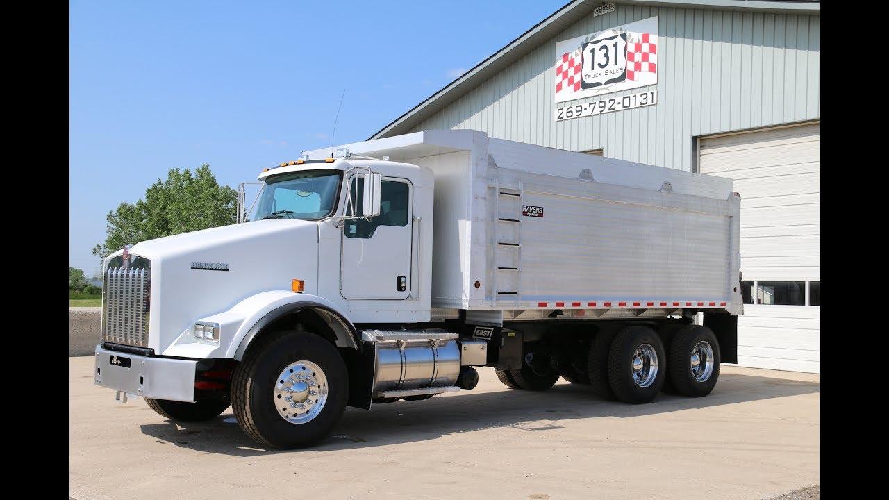 2015 Kenworth T800 Dump Truck - YouTube Kenworth Dump Trucks Pics