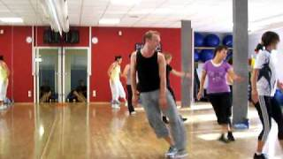 Aerobic class august 2010