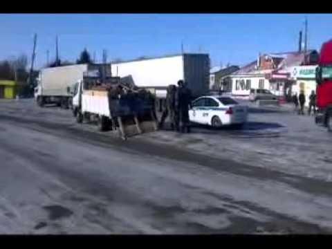 Незаконная перевозка осетровой рыбы в грузовике под Маяком