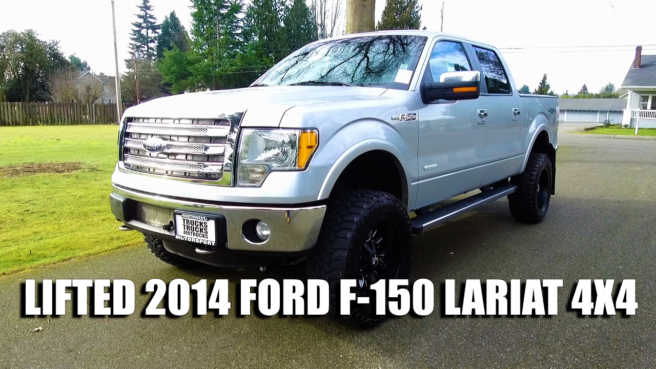 lifted 2014 ford f 150 lariat 4x4 youtube. Black Bedroom Furniture Sets. Home Design Ideas