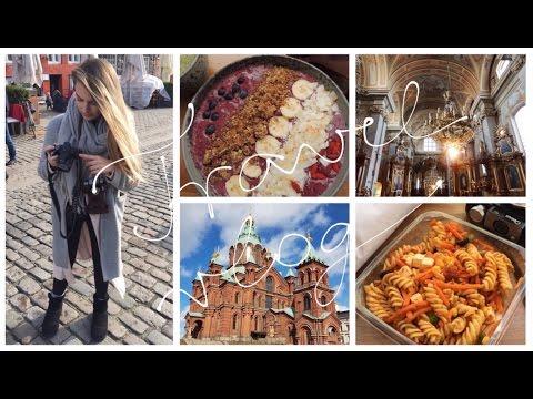 Europe Travel Vlog / What I Eat When Traveling Vegan